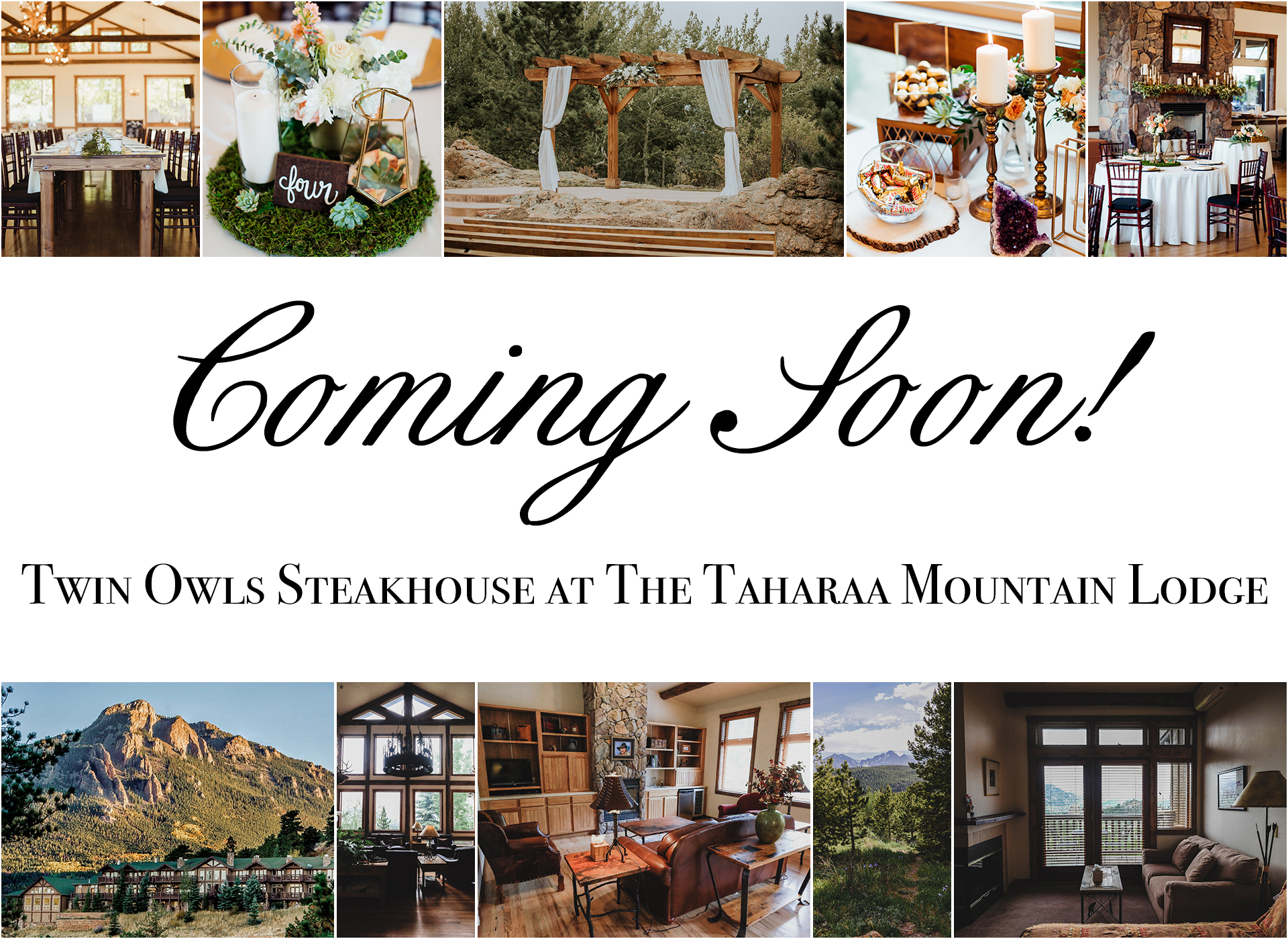 Rocky Mountain Lodge & Venue - Estes Park wedding venue